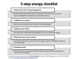 5-step energy health check